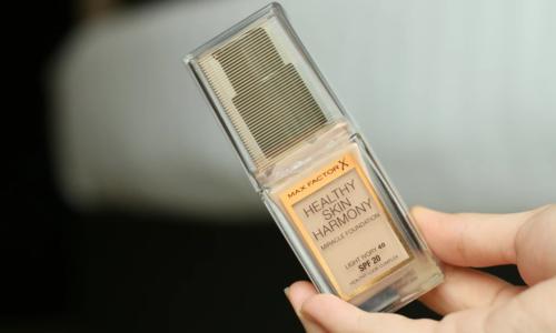 Gut oder nicht? Foundation Healthy Skin Harmony Miracle von Max Factor